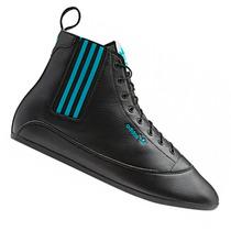 Bota Champión Alto Calzado Adidas Easy Five Dama Cuero 100%