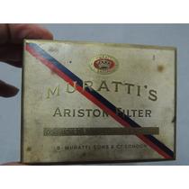 Antigua Caja De Cigarrillos