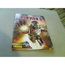 Iron Man 3 Album De Figuritas No Esta Completo