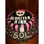 Monster High Torta Artesanal En Wilton