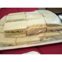 100 Sandwiches Jamon Y Queso Y 1 Kg De Masas Surtidas