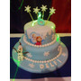 Torta De Cumpleaños, Frozen, Todos Los Personajes!!