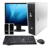 Computadora Hp Completa Grabadora Dvd + Lcd 17 + Perifericos
