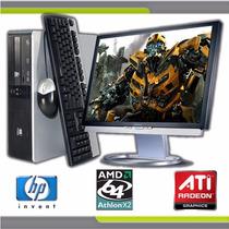 Computadora Completa Lcd 17con Disco 80gb Y 4gb Ram Dvd-rw
