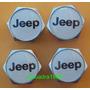 Tapas Para Válvulas Cromadas Para Jeep