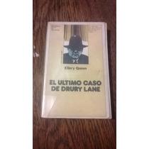 Ellery Queen. El Último Caso De Drury Lane