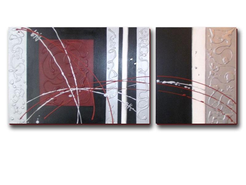 Cuadros modernos con flores minimalistas pintados mano for Cuadros minimalistas modernos