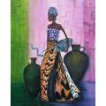 Mujer Africana 120 Pesos.