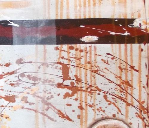 Cuadros oleo modernos abstractos minimalistas pintados for Cuadros pintados a mano