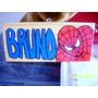 Cuadrito Hombre Araña Con Nombre Bruno