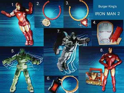 Iron King Iron Man 2 Burger King