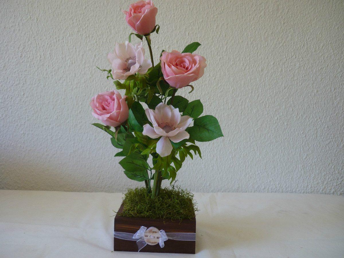 Arreglos florales para centros de mesa flores centros de - Adornos de mesa ...