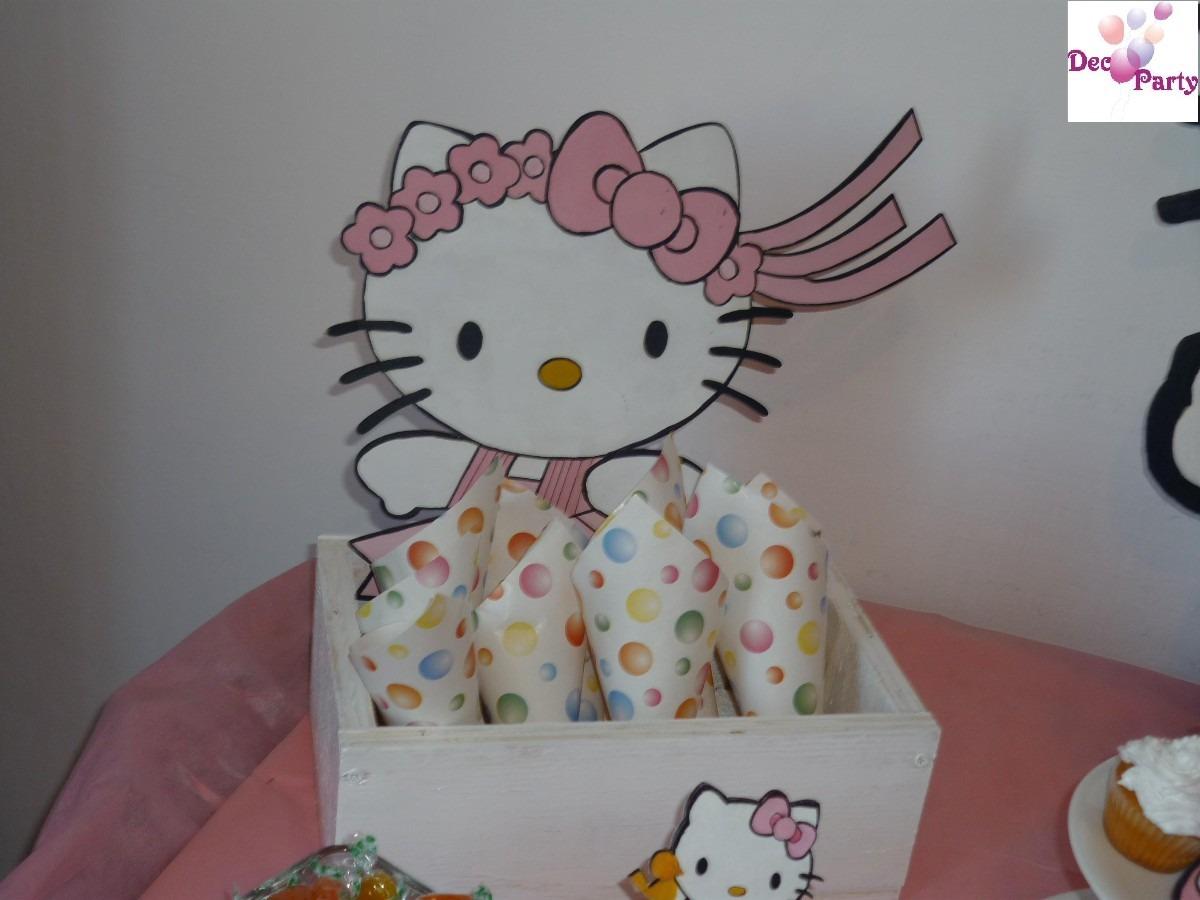 decoracion kitty cumpleaos cumpleaos infantiles motivo kitty  en