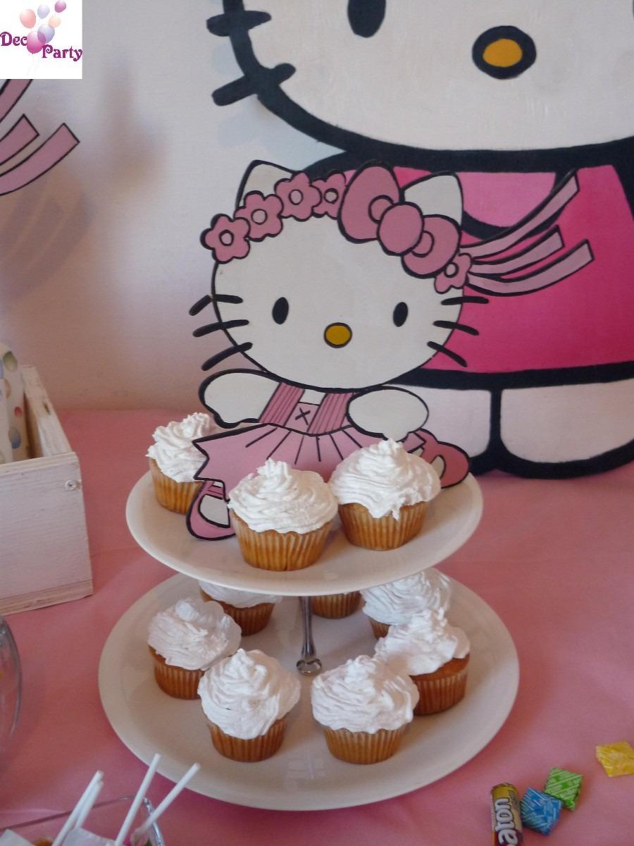 Decoracion kitty cumplea os - Decoracion de cumpleanos infantiles ...