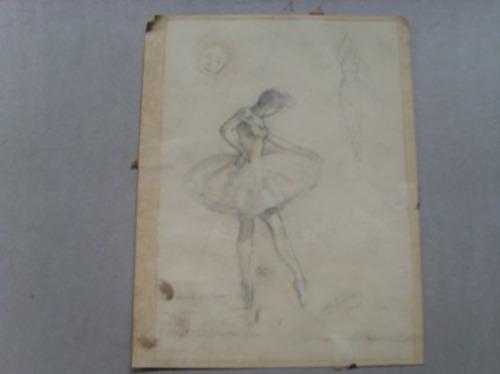 Dibujos De Bailarinas A Lapiz