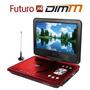 Dvd Portable Xion Lcd 9 Tv Usb Sd Control Dimm Futuroxxi