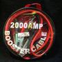 Cables P/ Puente Bateria Auto Camion Auxilio 2000 Amp Juego