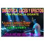 Discoteca Con Pantalla Gigante Iluminacion Led Salon