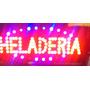 Cartel Led Luminoso Heladeria 220 Volts