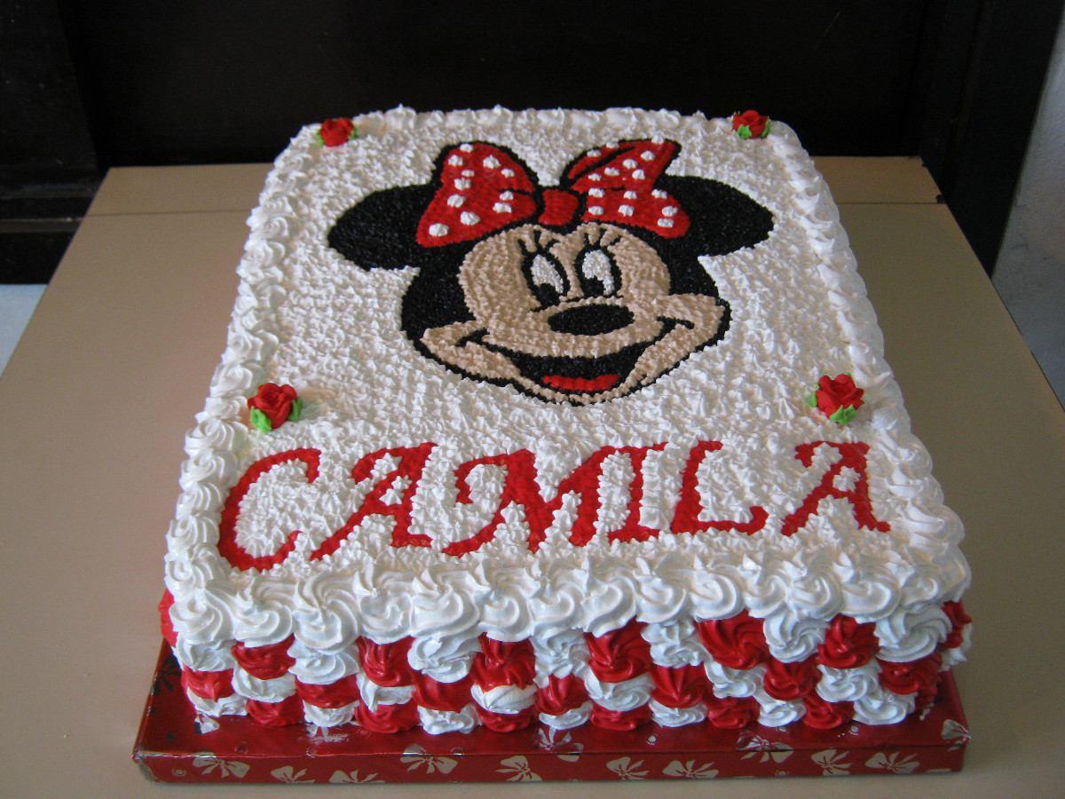 Exquisitas Tortas De Minnie Para Cumpleaños Y Fiestas - $ 260,00 ...