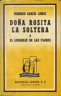 el lenguaje de las flores lorca: