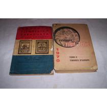 Dos Catalogos De Sellos,uno De Paraguay Otro Frances...