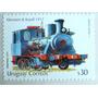 Osl Sello 2199 Uruguay Locomotora Tren Afe