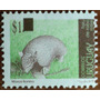 Osl Sello 2308 Uruguay Tatú Mulita Fauna