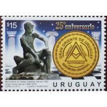 Osl Sello Uruguay Masoneria Gran Oriente