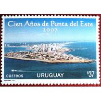 Osl Sello 2310 Uruguay. Punta Del Este 100 Años