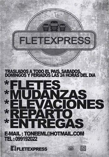Fletes Mudanzas Elevaciones A Todo El Pais Las 24hs !!!