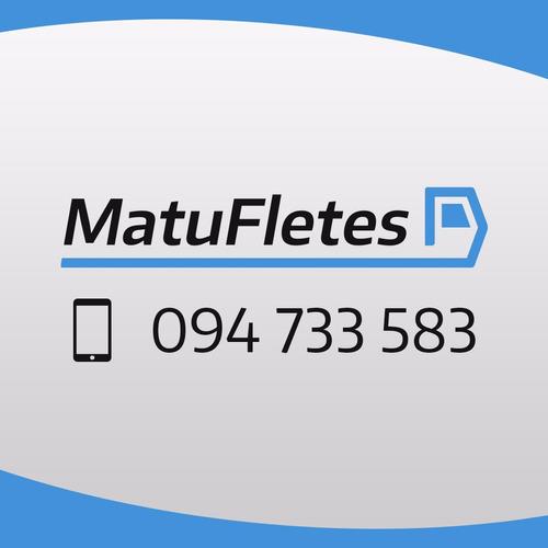 Fletes - Mudanzas - Repartos - Todo El País - 24x7
