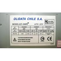Fuente Olidata Atx 300 W 20 + 4 Pin Garantia 30 Dias