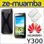 Protector Funda Tpu Huawei Y300 + Film - Ascend Y300