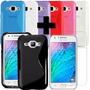 Vidrio Templado + Funda Protector Tpu Samsung Galaxy J1 ®