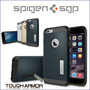 Protector Spigen Iphone 6 Plus Tough Armor + Vidrio Templado
