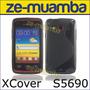 Protector Funda Tpu Galaxy Xcover S5690 + Film Colocado