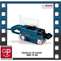 Lijadora De Banda 750 W Gbs 75 Ae Bosch