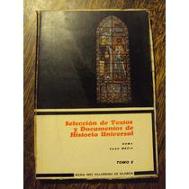Seleccion Texto Documento Historia Universal Roma Edad Media