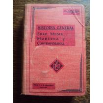 Arriola Historia General Edad Media Moderna Contemporanea