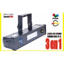 Efecto Discoteca 3 En 1 Laser Led Strobo // Mira El Video!!!