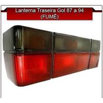 Farol Trasero Volkswagen Gol 87/94 Rojo/fume Tipogti