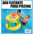 Aro De Basket Flotante Para Piscina Nuevos Oferta