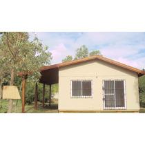 Cabaña A Estrenar 2 Dormitorios, Jardín, Cerca De La Playa