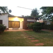 Casa Reciclada, Amueblada, Parrillero, Garage Y Jardín
