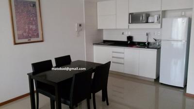 Apartamento alquiler temporario Rambla Republica De Chile Y Colombes 0 - Malvin 41 dólares por día