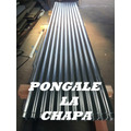 Chapa Galvanizada 3.60m X 1.08m Espesor 038mm Oferta