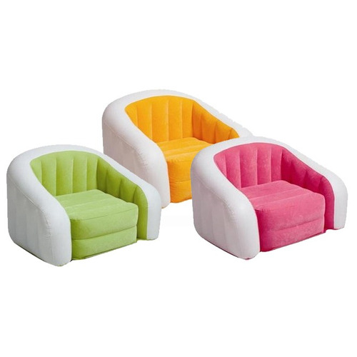 Intex - Sillon Puff Inflable Club Cafe 97x76x69cm - 68571