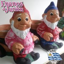 Enanos-maceta De Hormigon Para Jardin Unicos-novedad 2014