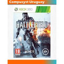 Battlefield 4 - Xbox 360 - Original Fisico